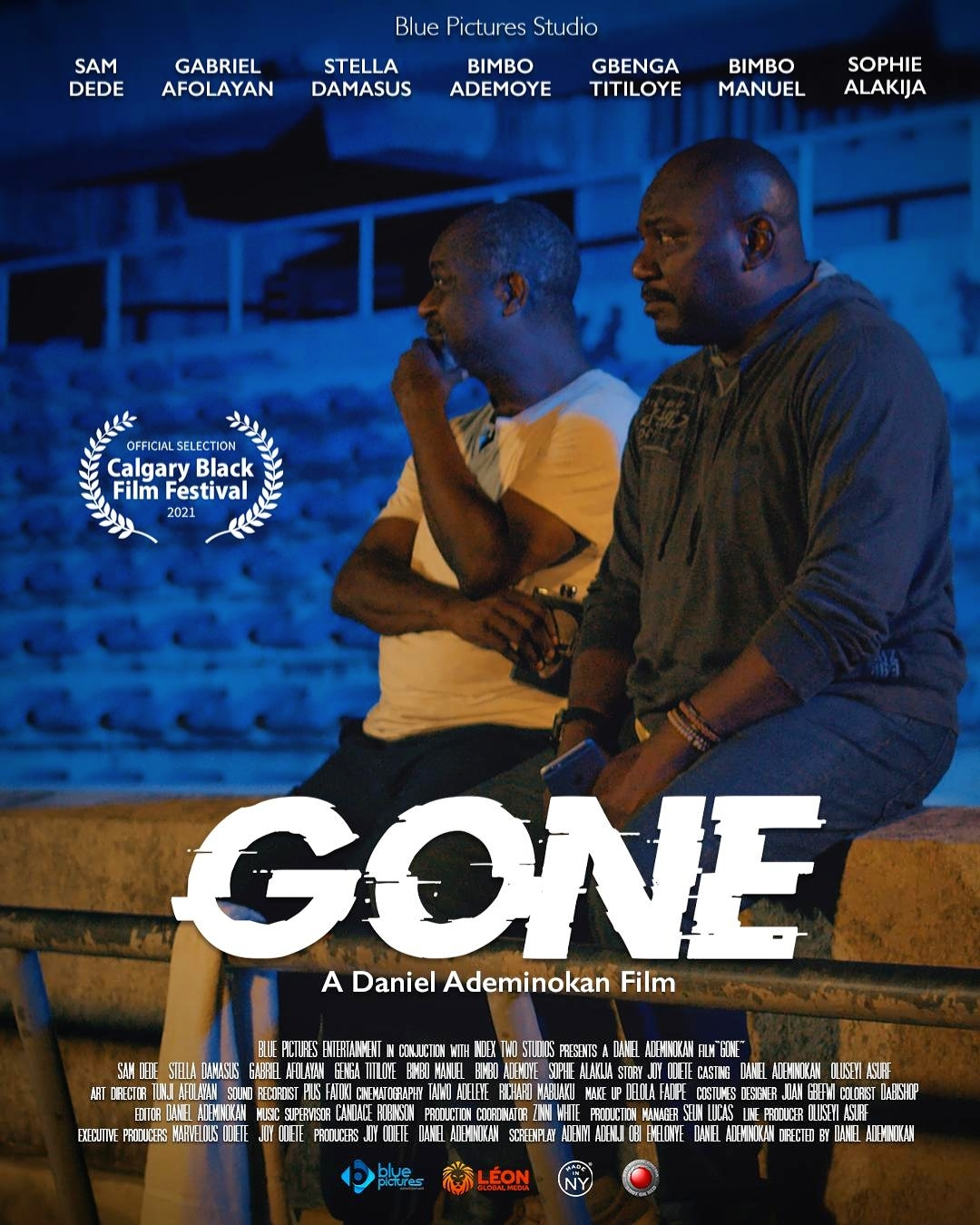 """Daniel Ademinokan's feature film """"Gone"""" selected to screen at Calgary Black Film Festival"""