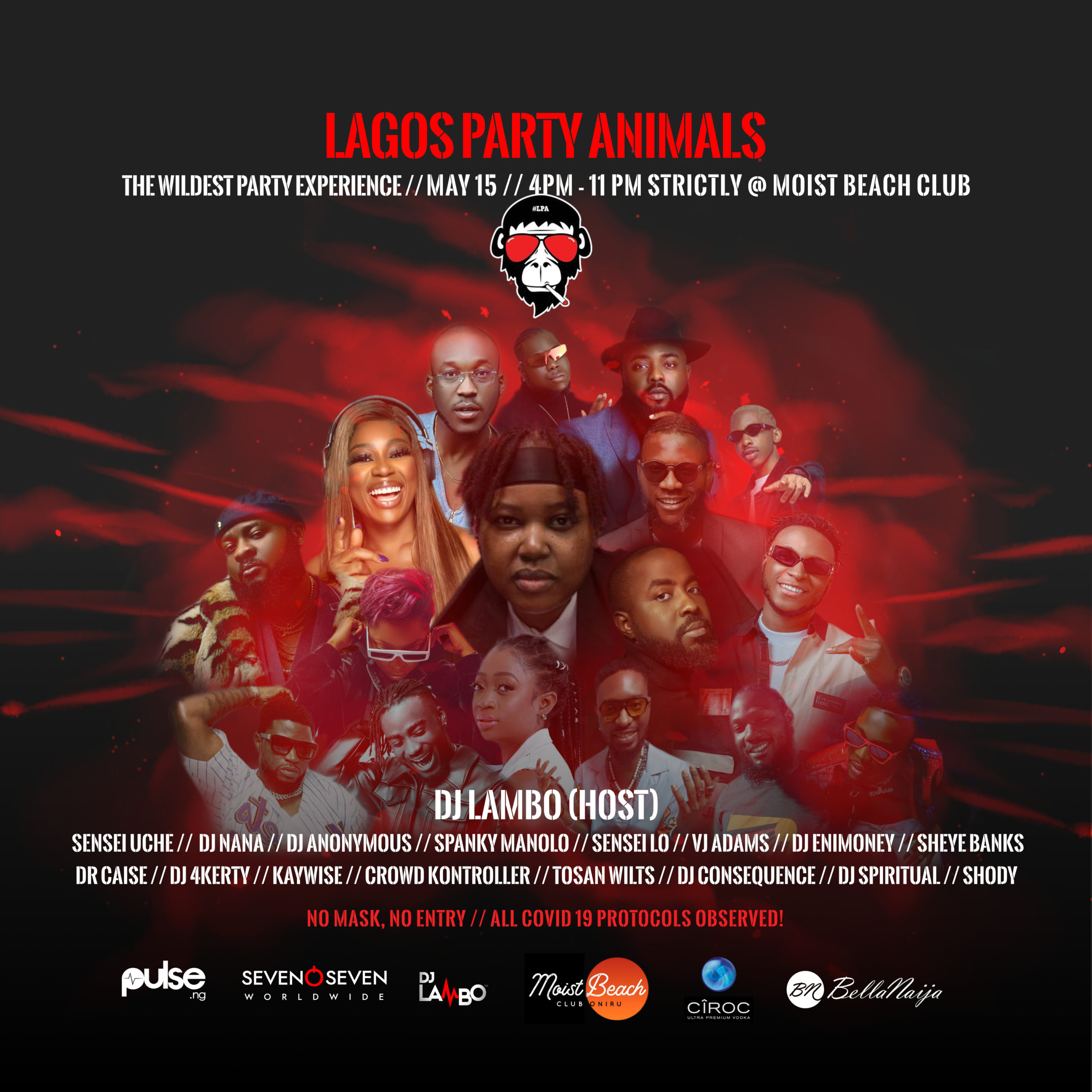 Lagos Party Animals is Back & this time it... Image