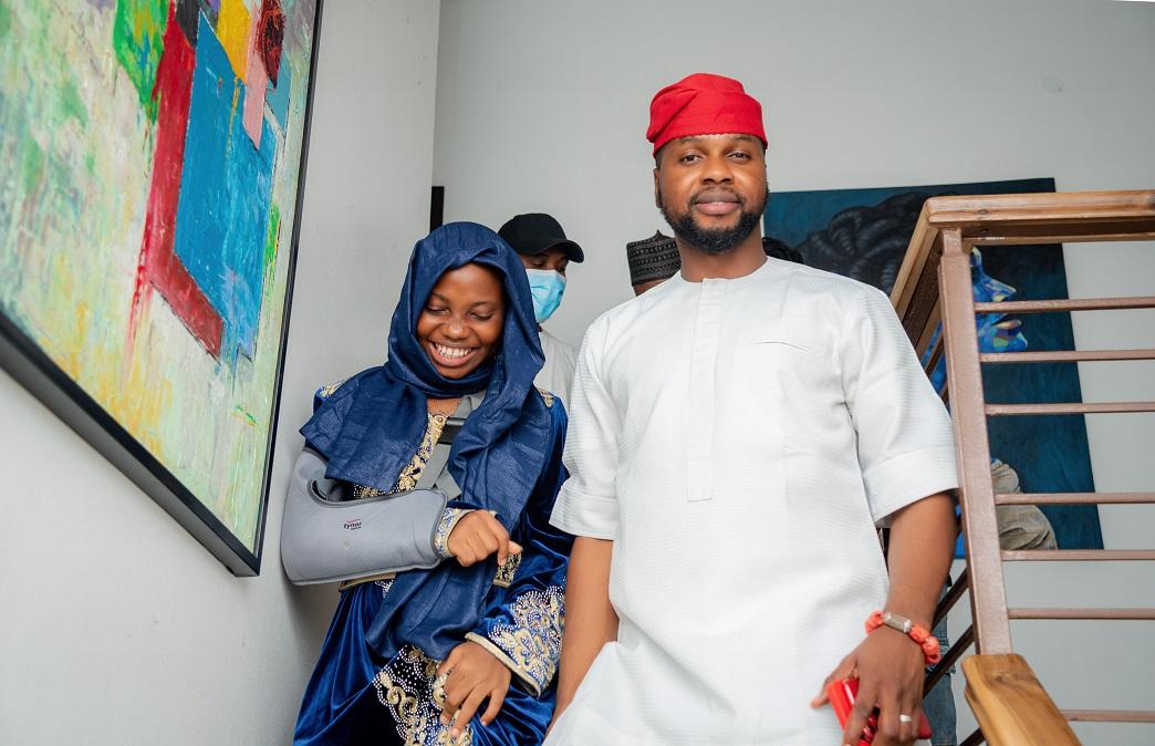 Taaoma, Tobi Bakare Spotted at Adebola Williams... Image