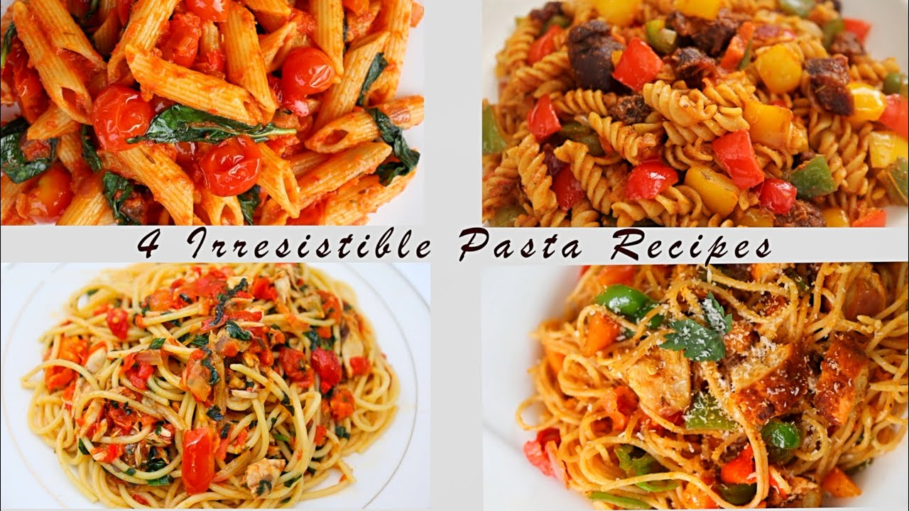 Chicken, Fish, Beef & Vegetarian—4 Irresistible Pasta Recipes from Sisi Yemmie to Try this Week