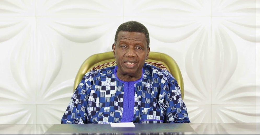 "Pastor Adeboye Speaks on the Passing of His Son Dare Adeboye: ""…Don't cry, because he is resting in glory"""