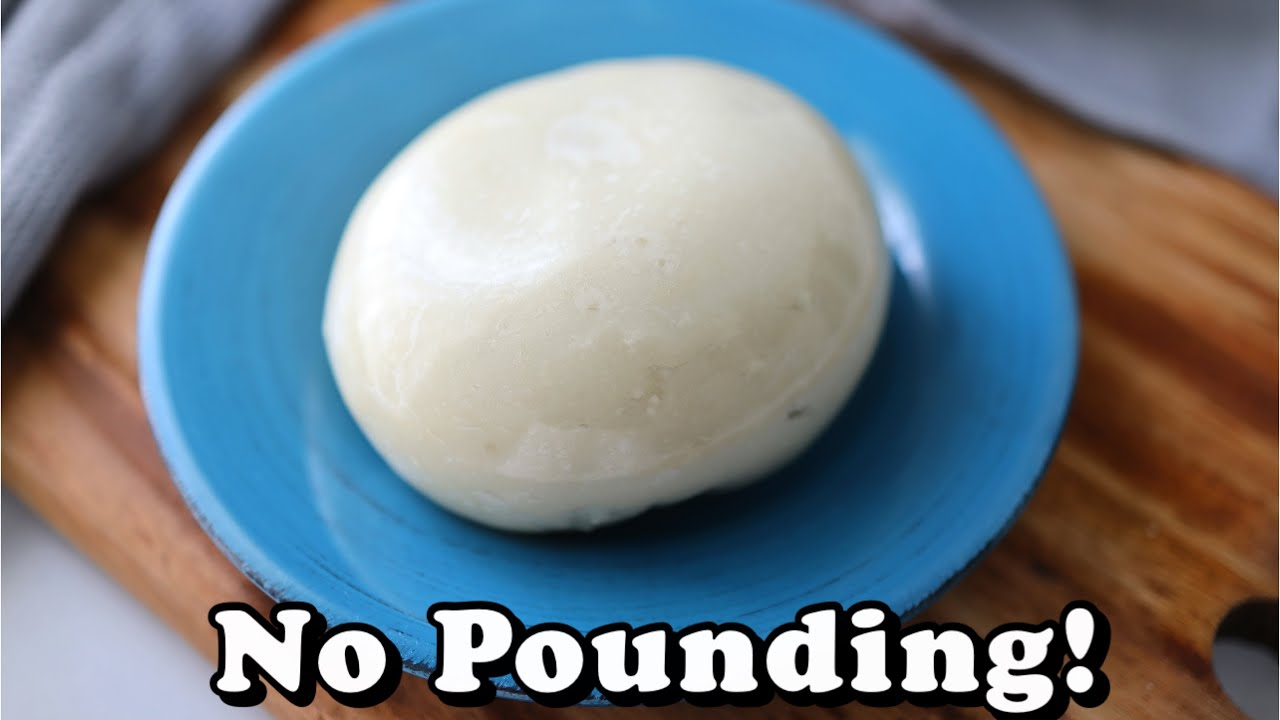 Let Sisi Yemmie Show You How to Make Pounded Yam w... Image