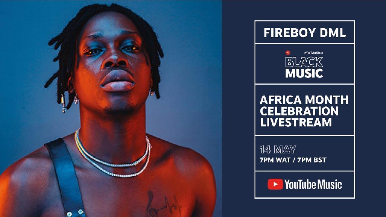 Don't Miss Fireboy DML's Live Concert ... Image
