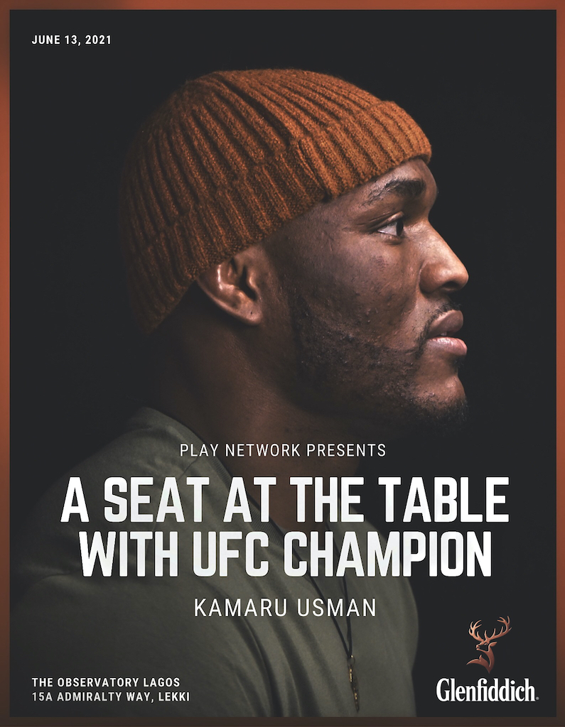Here's How YOU can Dine with UFC Champ Kamaru Usman this Sunday in Lagos