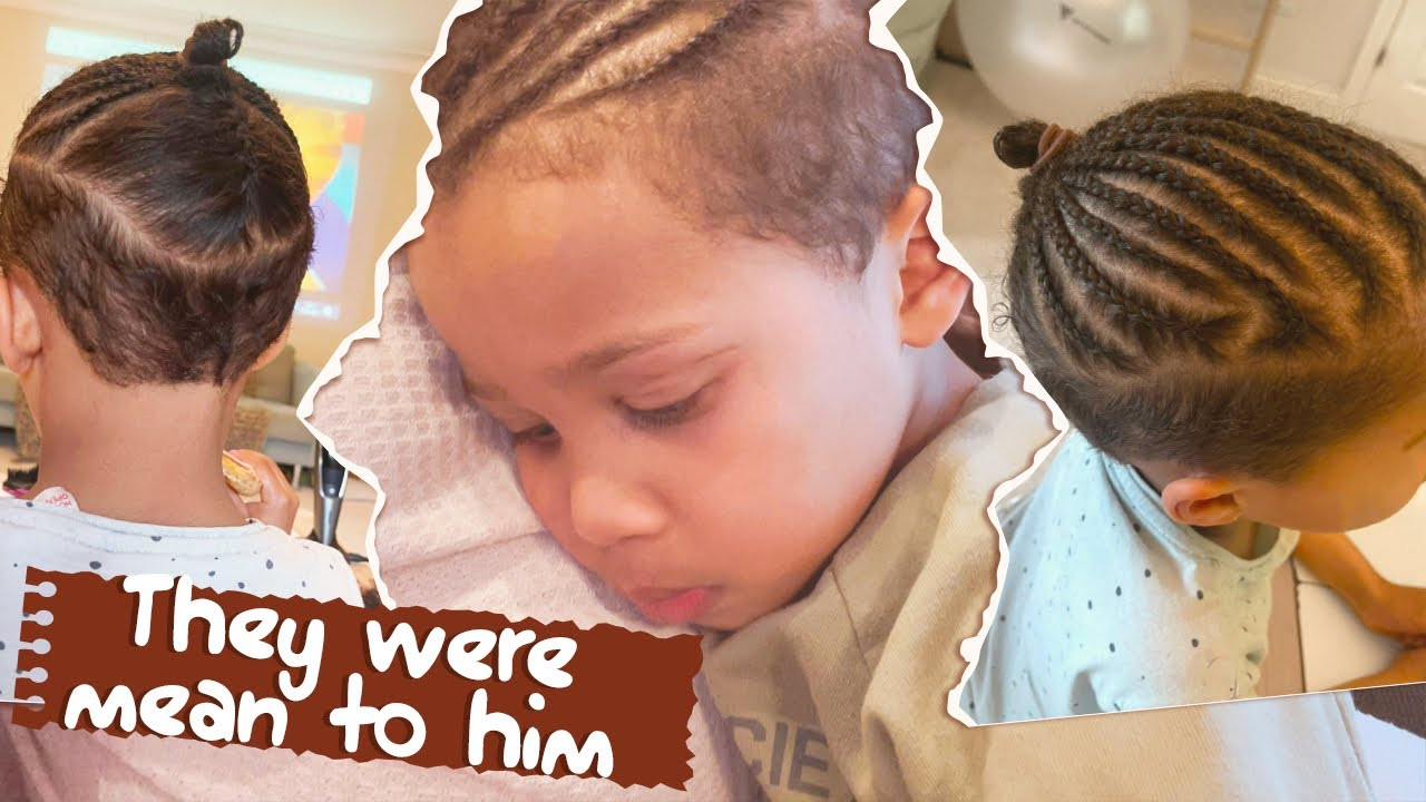 New Afro Braids + Behavioural Assessment – Keep Up with The Adanna & David Family