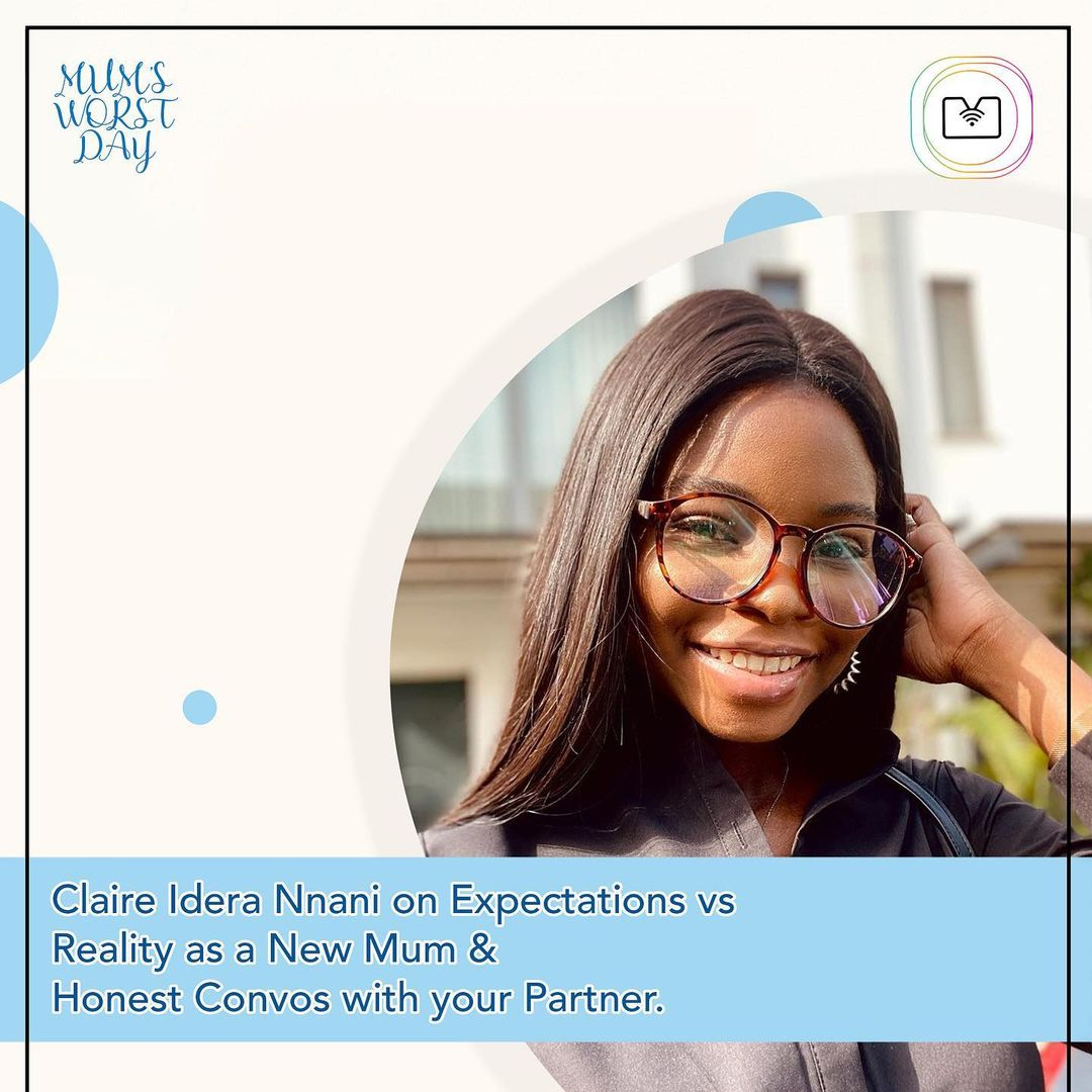 """Claire Idera Nnani chats with Nicole Chikwe about Motherhood in this Episode of """"Mum's Worst Day"""" Podcast"""