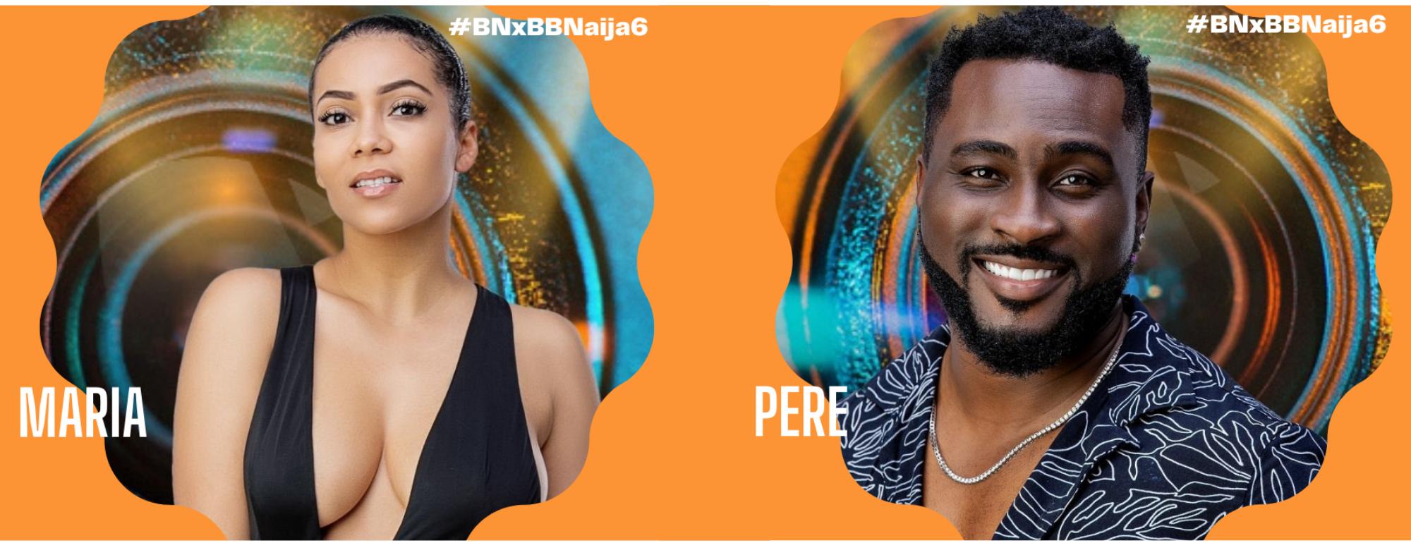 Maria & Pere are the #BBNaija Season 6 Wildcards