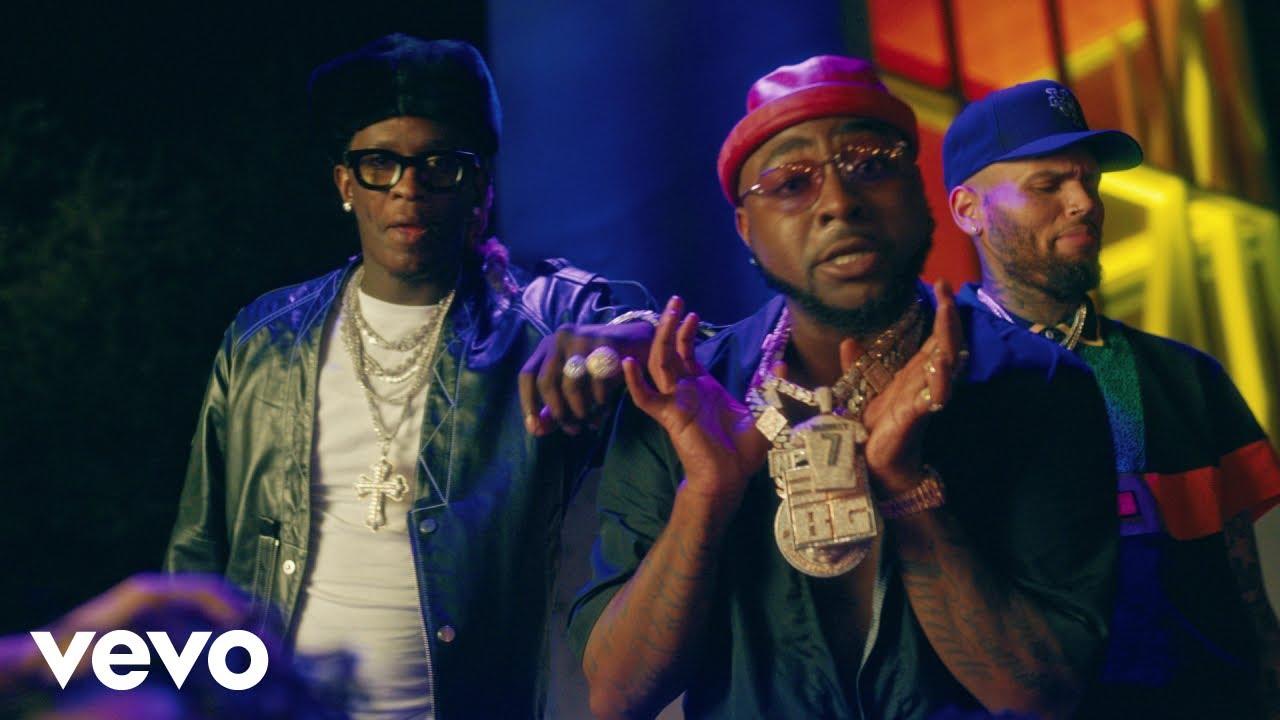 New Video: Davido feat. Chris Brown & Young Thug – Shopping Spree