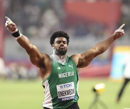 BN Celebrates Olympics Excellence: First Timer Chukwuebuka Enekwechi is in the Men's Shot Put Final