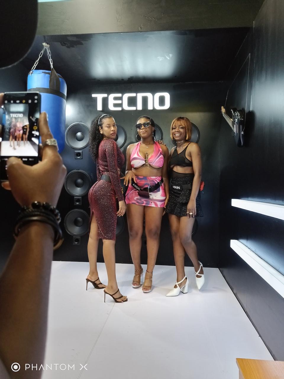 All Glam and Glitz – First BBNaija 6 Party Through the Lens of TECNO Phantom X