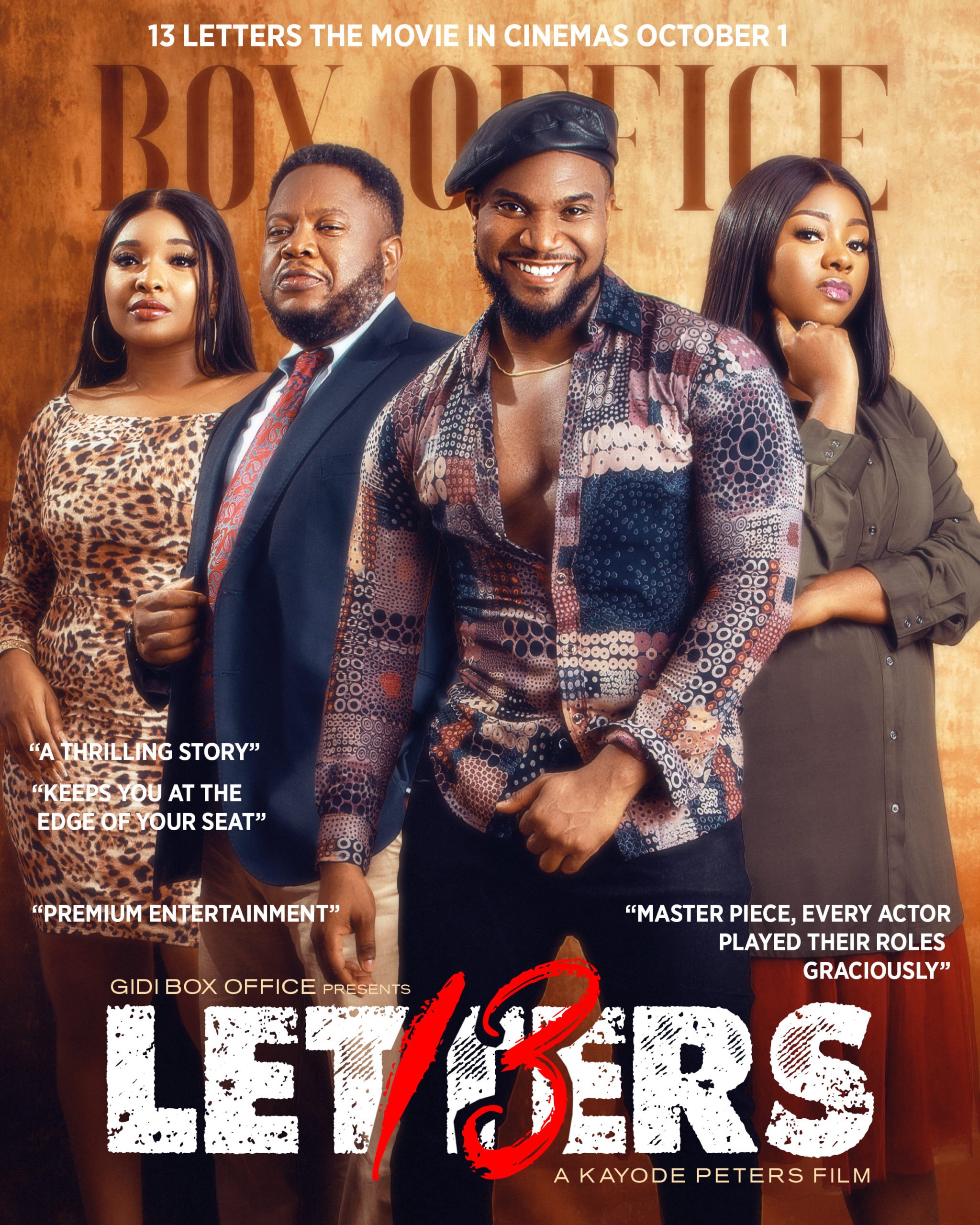"""What the Cast & Director of """"13 Letters"""" Want You to Know About the Upcoming Film #Arewapublisize"""