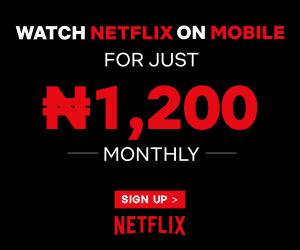 Sign up on Netflix